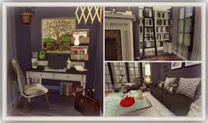 Cozy Living Rooms by Sims 4 Cozy Living Room Dinha