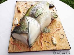 bass fish cake realistic bass fish groom s cake a cake