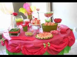 birthday table decoration ideas