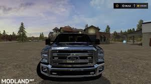 Ford Ranger Truck Mods - ford f350 work truck v 1 1 mod farming simulator 17
