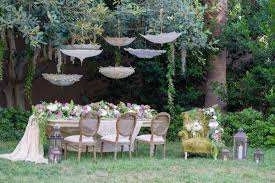 this princess and the frog inspired wedding decor is stunning