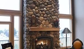Eldorado Outdoor Fireplace by Eldorado Stone Veneer River Rock Old Station Landscape U0026 Masonry