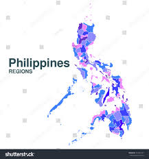 Map Of Phillipines Map Philippines Stock Vector 341830157 Shutterstock