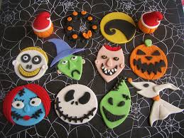 nightmare before christmas cake decorations disney s nightmare before christmas cupcake toppers