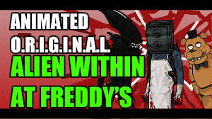 animated parody alien within at freddys halloween special