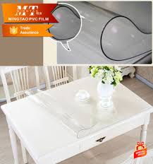 thick plastic table cover good quality thick plastic transparent table cloth rolls clear pvc