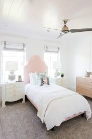 Girls Bedroom Kelly Green Carpet Tips For Decorating Kid Spaces Pink Headboard Studio Mcgee And