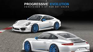 Porsche 911 Evolution - vorsteiner porsche 911 v gt announced