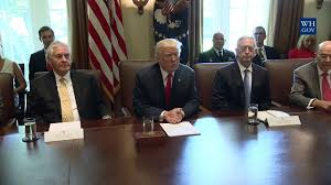 Cabinet President President Trump Leads A Cabinet Meeting Youtube