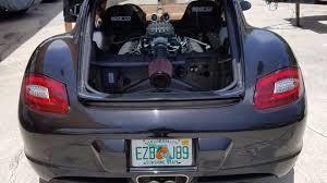 cayman porsche convertible porsche cayman receives ford 5 0l v8 conversion