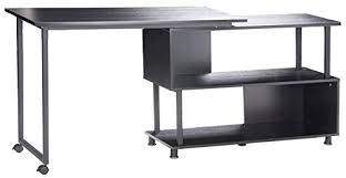 L Shaped Home Office Furniture Merax Rotatable Computer Desk Home Office Furniture L Shaped With