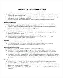 Resume Objective Administrative Assistant Sample Resume Administrative U2013 Topshoppingnetwork Com