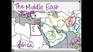 Middle East Countries Map by Countries Of The Middle East Youtube