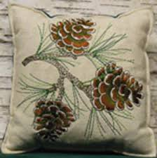 embroidered pillows paine products