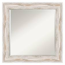White Wall Mirror Coastal Mirrors Are Beachy Keen Shoreline Living Hayneedle