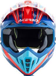 blue motocross helmet acerbis impact 3 0 motocross helmet helmets offroad red blue