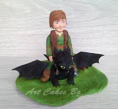 toothless cake topper hiccup and toothless cake topper cakecentral