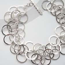 contemporary jewellery designers silver 3 loop bracelet contemporary bracelets by contemporary