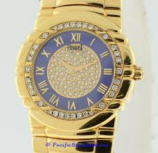piaget tanagra piaget tanagra yellow gold diamond pre owned pacific bay