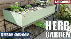herb garden build jimbos garage youtube