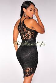 leather dress black lace faux leather lace up back dress