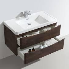 900mm Bathroom Vanity by Chestnut Wall Mounted Vanity Unit 900mm