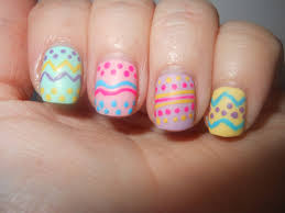 beautiful nails and color nails designs for easter