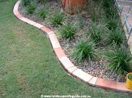 brick paver edging garden wall edging best concrete garden edging
