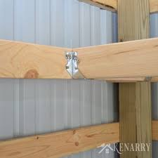 Wooden Storage Shelf Diy by Diy Corner Shelves For Garage Or Pole Barn Storage Diy Corner