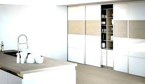 portes de placard de cuisine porte de cuisine coulissante meuble cuisine porte coulissante
