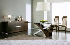 square dark brown wooden dining table modern formal dining room
