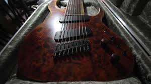 9 string fanned fret waghorn guitars 9 string fanned fret corax w9 youtube