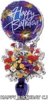 30th birthday flowers and balloons birthday balloon gifs tenor