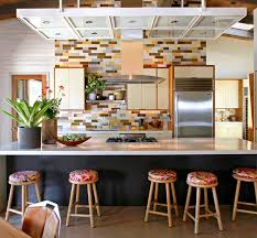 Subway Tiles For Backsplash In Kitchen No More White 10 Colorful Subway Tile Backsplashes Kitchn