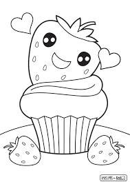 Nice Cupcake Coloring Pages 3903 Cupcake Coloring Pages Color Ins