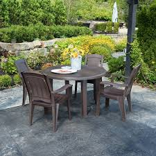 Brentwood Patio Furniture 48 In Brentwood Table Adams Manufacturing