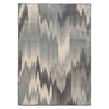 Beige And Gray Area Rugs Modern Waves Area Rug Gray Target