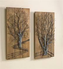 beautiful idea metal tree wall black bronze 3d copper