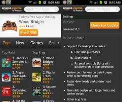 appstore for android appstore for android updated ahead of kindle launch