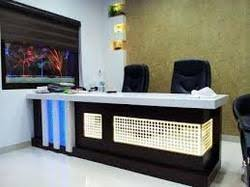 Office Table Designs Office Md Table Designing In Jaipur Pink Tower By Alpine Interior