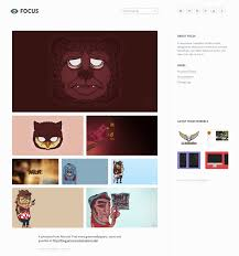 tumblr themes art blog minimal tumblr themes to download