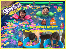 Challenge Filled With Water Shopkins Water Challenge Filled With Eggs