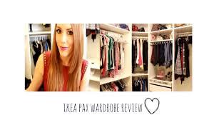 Ikea Closet Ikea Pax Wardrobe Review Diy Youtube