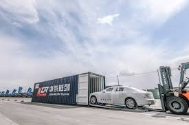 volvo truck ad first units of the china built volvo s90 en route to belgian