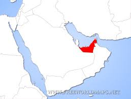 uae map world map where is the united arab emirates located on the world map