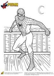 coloriage spiderman gratuit à colorier dessin à imprimer