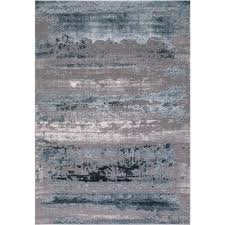 Concord Global Area Rugs Concord Global Trading Thema Lakeside Teal 7 Ft 10 In X 10 Ft 6