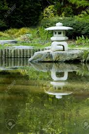 pagoda in a japanese zen garden stock photo picture and royalty