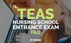 teas nursing entrance exam faq nrsng