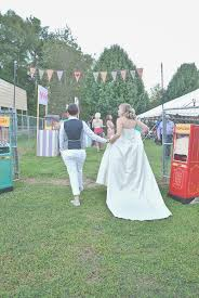 backyard carnival wedding amanda jennifer six hearts